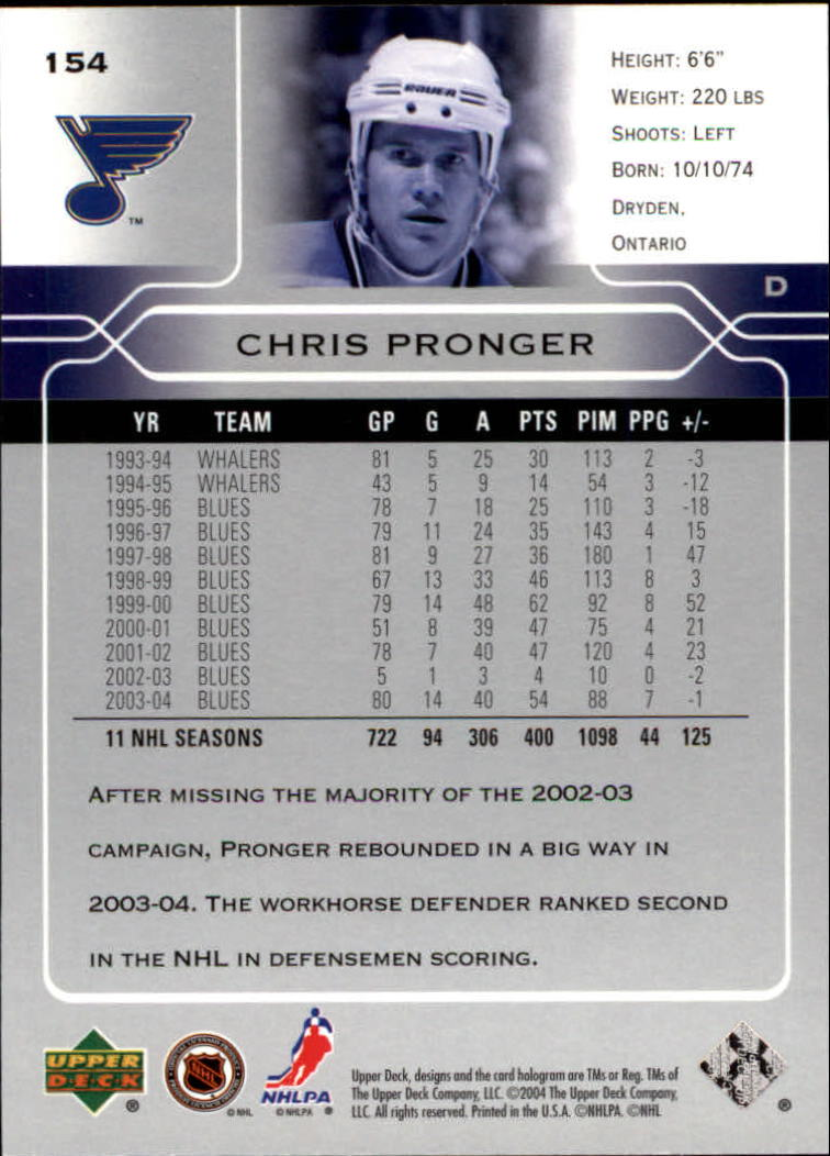 2004-05-Upper-Deck-Hockey-Cards-Pick-From-List thumbnail 281