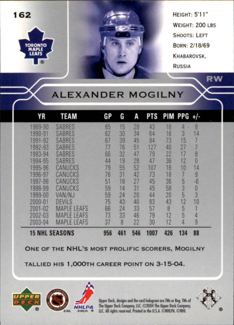 2004-05-Upper-Deck-Hockey-Cards-Pick-From-List thumbnail 297