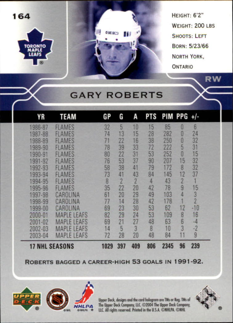 2004-05-Upper-Deck-Hockey-Cards-Pick-From-List thumbnail 301