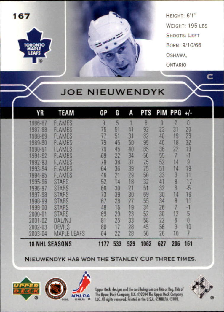 2004-05-Upper-Deck-Hockey-Cards-Pick-From-List thumbnail 307
