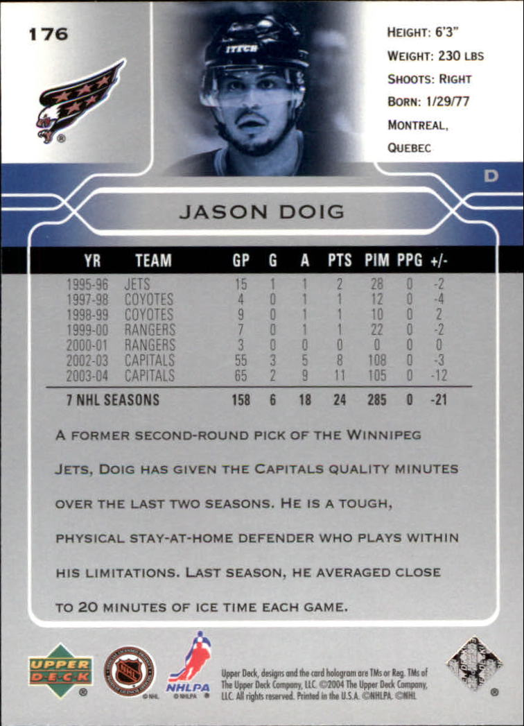 2004-05-Upper-Deck-Hockey-Cards-Pick-From-List thumbnail 325