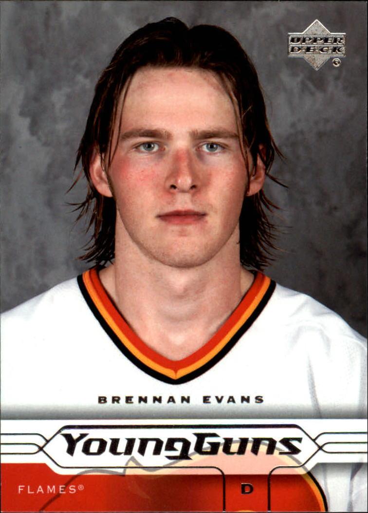 2004-05 Upper Deck #182 Brennan Evans YG RC