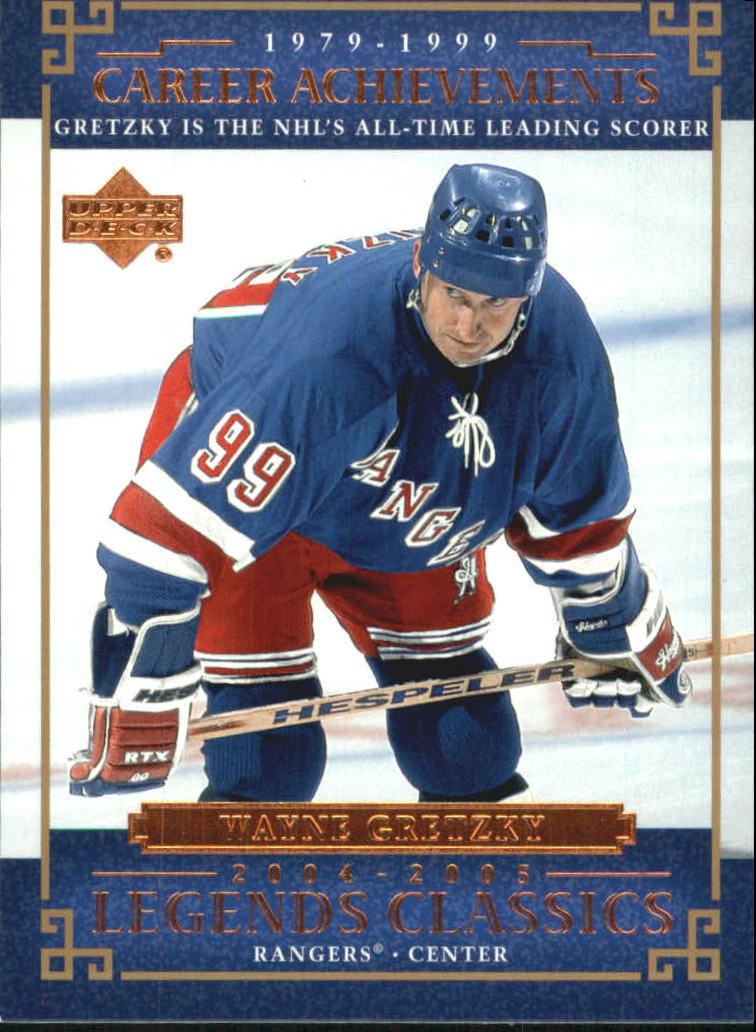 2004-05 UD Legends Classics #80 Wayne Gretzky