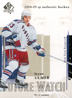 2004-05 SP Authentic #93 Layne Ulmer RC