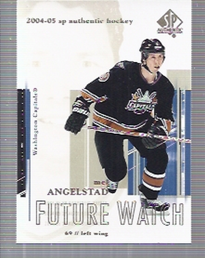 2004-05 SP Authentic #94 Mel Angelstad RC