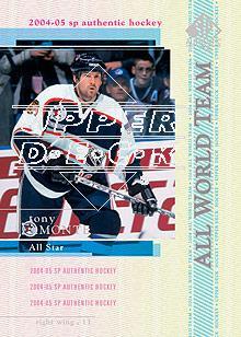 2004-05 SP Authentic #136 Tony Amonte AW