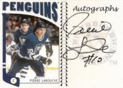 2004-05 ITG Franchises US West Autographs #APLA Pierre Larouche