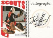 2004-05 ITG Franchises US West Autographs #ADHE Denis Herron