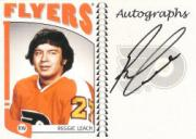 2004-05 ITG Franchises US East Autographs #ARL Reggie Leach