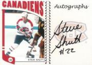 2004-05 ITG Franchises Canadian Autographs #SSH Steve Shutt