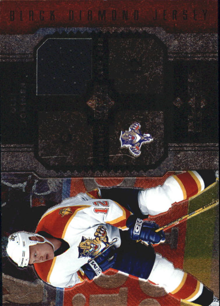 2005-06 Black Diamond Jerseys Ruby #JOJ Olli Jokinen