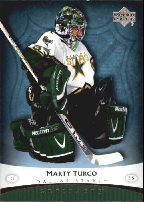 2005-06 Artifacts #35 Marty Turco