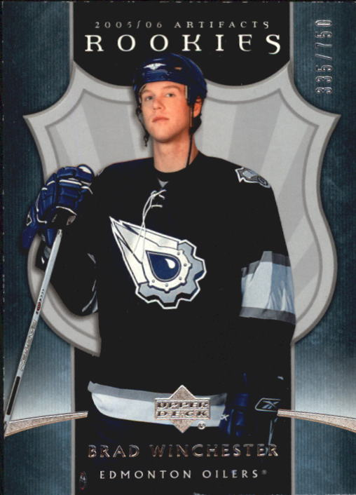 2005-06 Artifacts #212 Brad Winchester RC