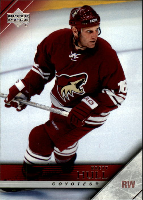 2005-06 Upper Deck #144 Brett Hull