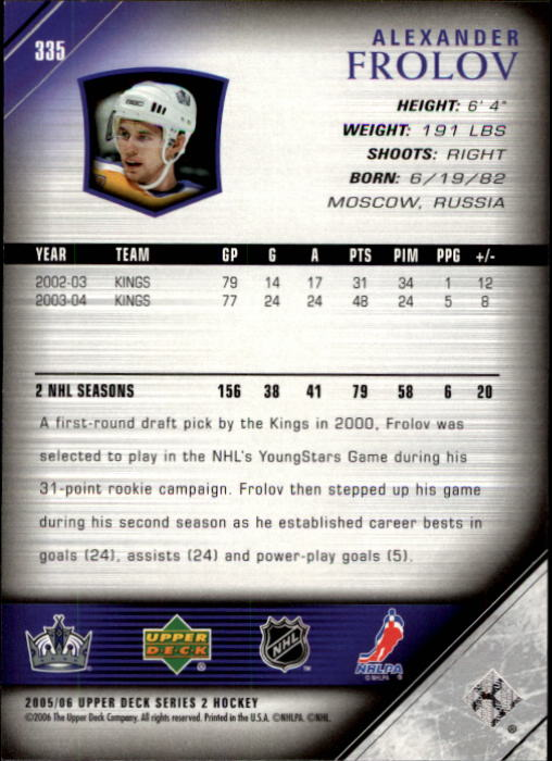 2005-06-Upper-Deck-Hockey-Cards-251-487-NO-Young-Guns-Pick-From-List thumbnail 171