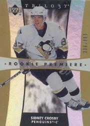 2005-06 Upper Deck Trilogy #211 Sidney Crosby RC