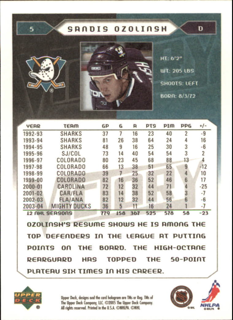 2005-06-Upper-Deck-Victory-Hockey-Cards-1-250-Pick-From-List thumbnail 11