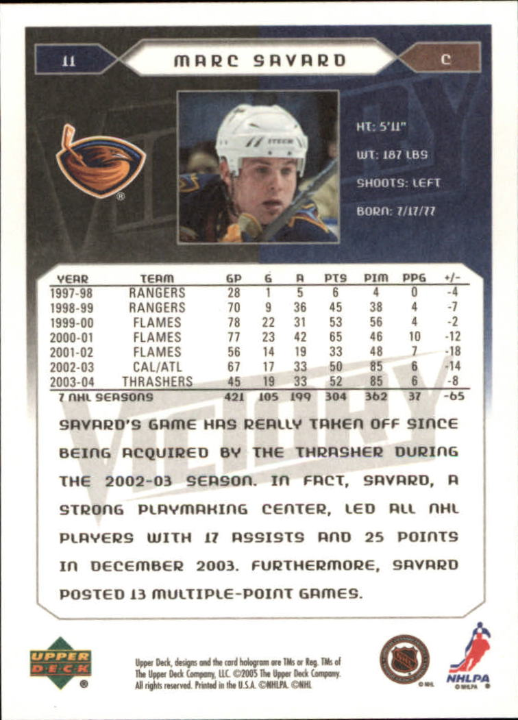 2005-06-Upper-Deck-Victory-Hockey-Cards-1-250-Pick-From-List thumbnail 21