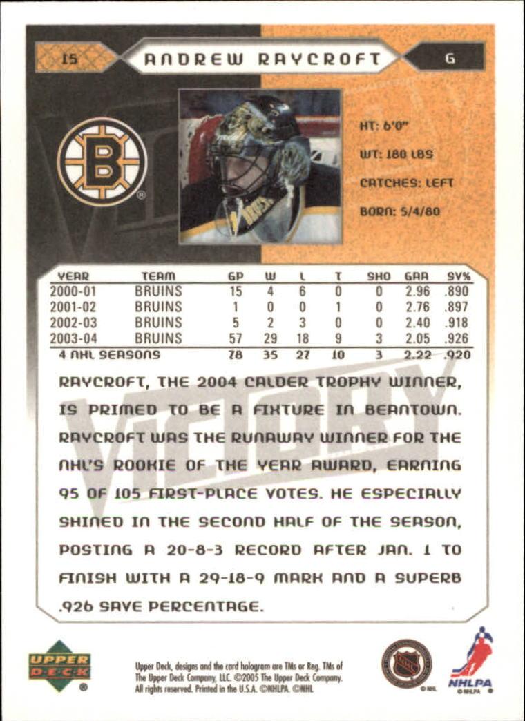 2005-06-Upper-Deck-Victory-Hockey-Card-Pick thumbnail 25