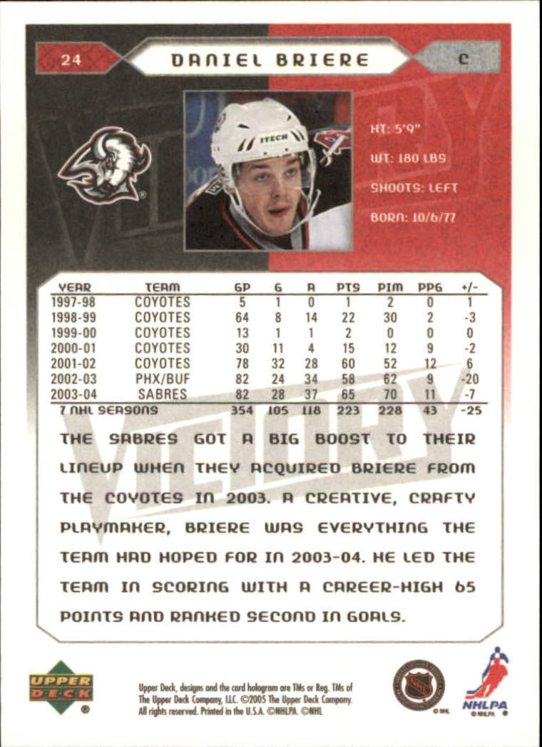 2005-06-Upper-Deck-Victory-Hockey-Cards-1-250-Pick-From-List thumbnail 45