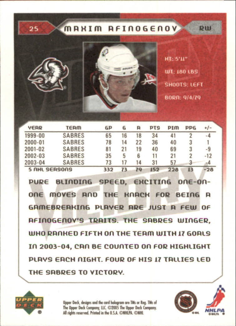 2005-06-Upper-Deck-Victory-Hockey-Cards-1-250-Pick-From-List thumbnail 47