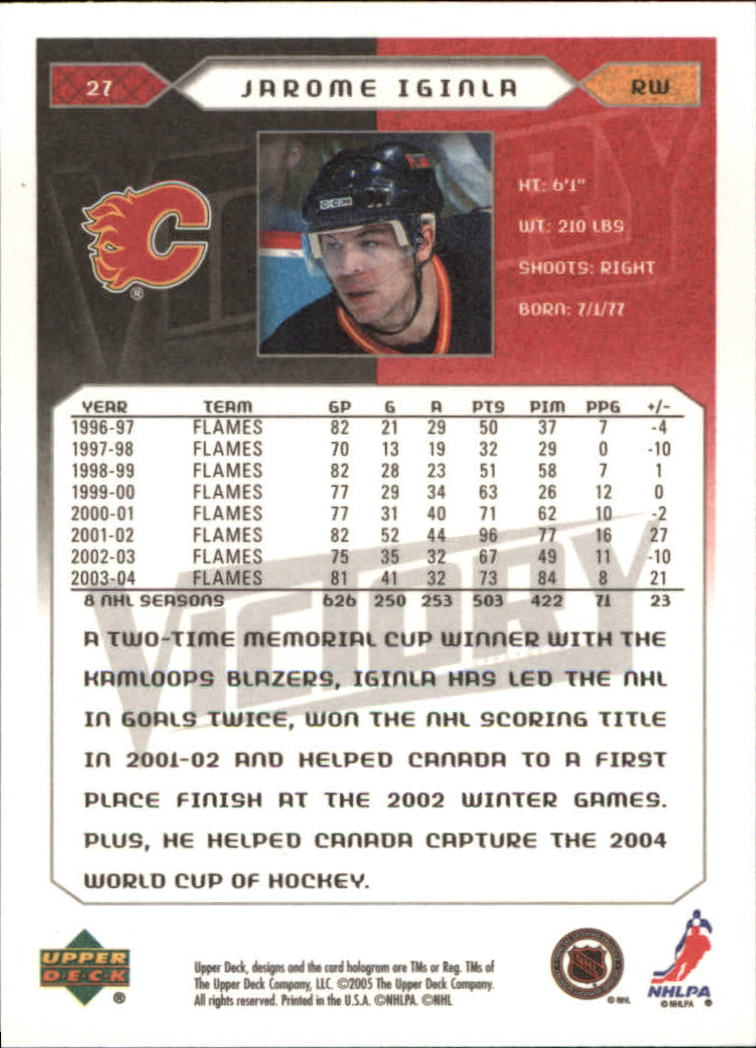2005-06-Upper-Deck-Victory-Hockey-Cards-1-250-Pick-From-List thumbnail 51