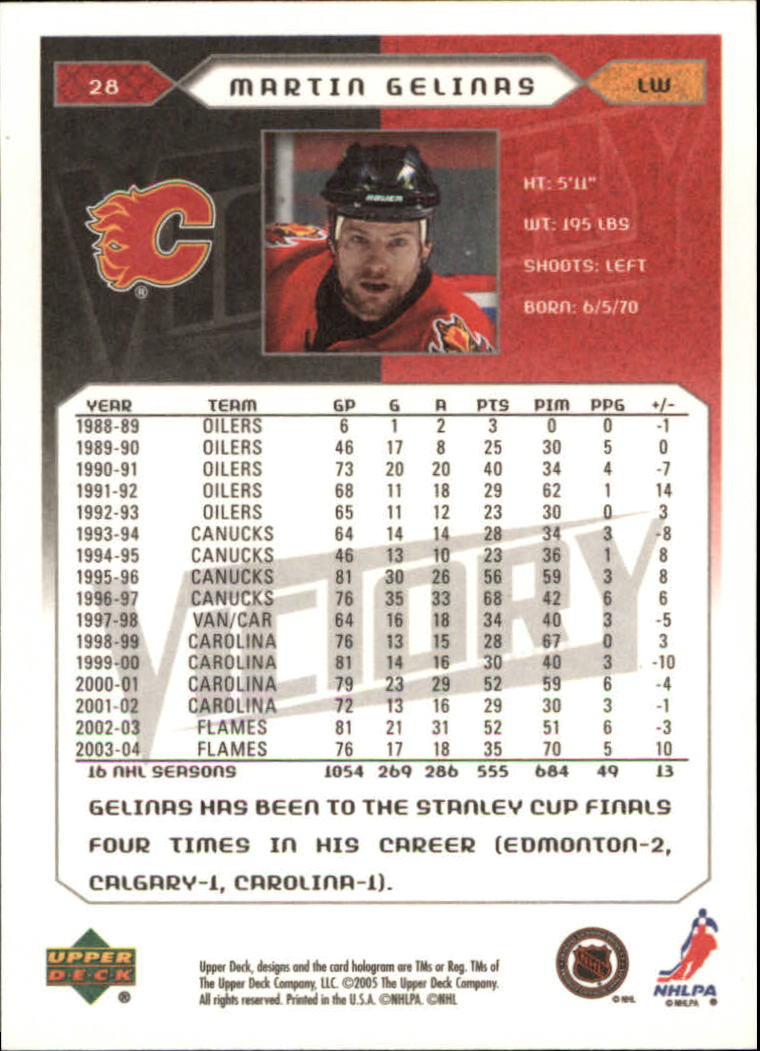 2005-06-Upper-Deck-Victory-Hockey-Cards-1-250-Pick-From-List thumbnail 53
