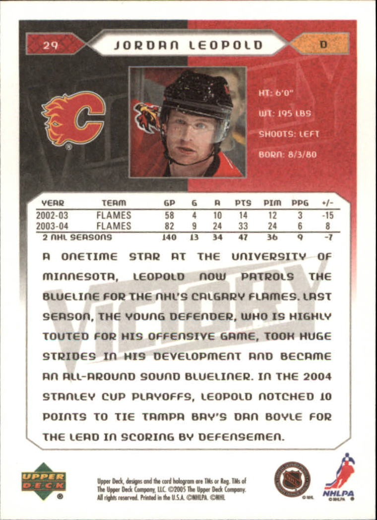 2005-06-Upper-Deck-Victory-Hockey-Cards-1-250-Pick-From-List thumbnail 55