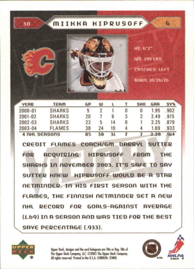 2005-06-Upper-Deck-Victory-Hockey-Cards-1-250-Pick-From-List thumbnail 57