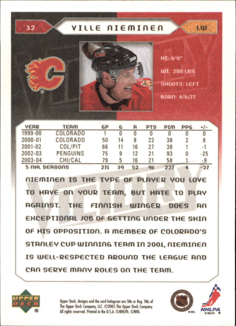 2005-06-Upper-Deck-Victory-Hockey-1-250-Your-Choice-GOTBASEBALLCARDS thumbnail 39