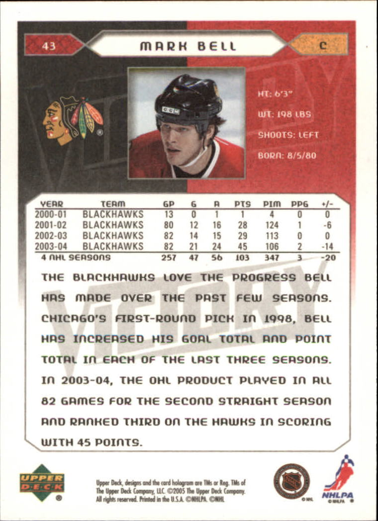 2005-06-Upper-Deck-Victory-Hockey-Cards-1-250-Pick-From-List thumbnail 81