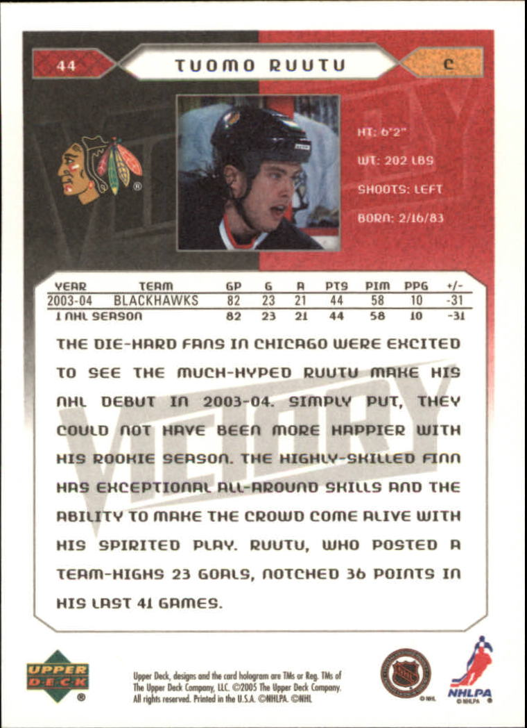 2005-06-Upper-Deck-Victory-Hockey-Cards-1-250-Pick-From-List thumbnail 83