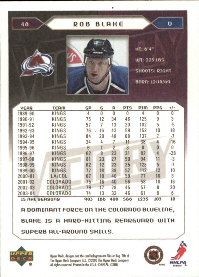 2005-06-Upper-Deck-Victory-Hockey-Cards-1-250-Pick-From-List thumbnail 91