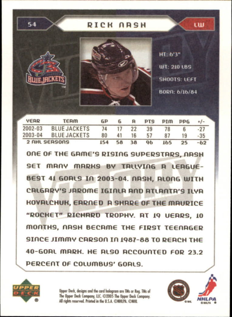 2005-06-Upper-Deck-Victory-Hockey-Cards-1-250-Pick-From-List thumbnail 103