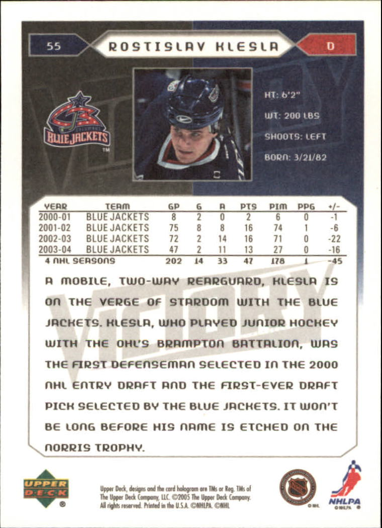 2005-06-Upper-Deck-Victory-Hockey-Cards-1-250-Pick-From-List thumbnail 105