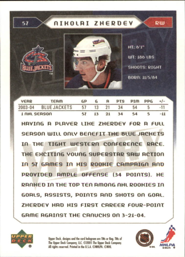 2005-06-Upper-Deck-Victory-Hockey-Cards-1-250-Pick-From-List thumbnail 109