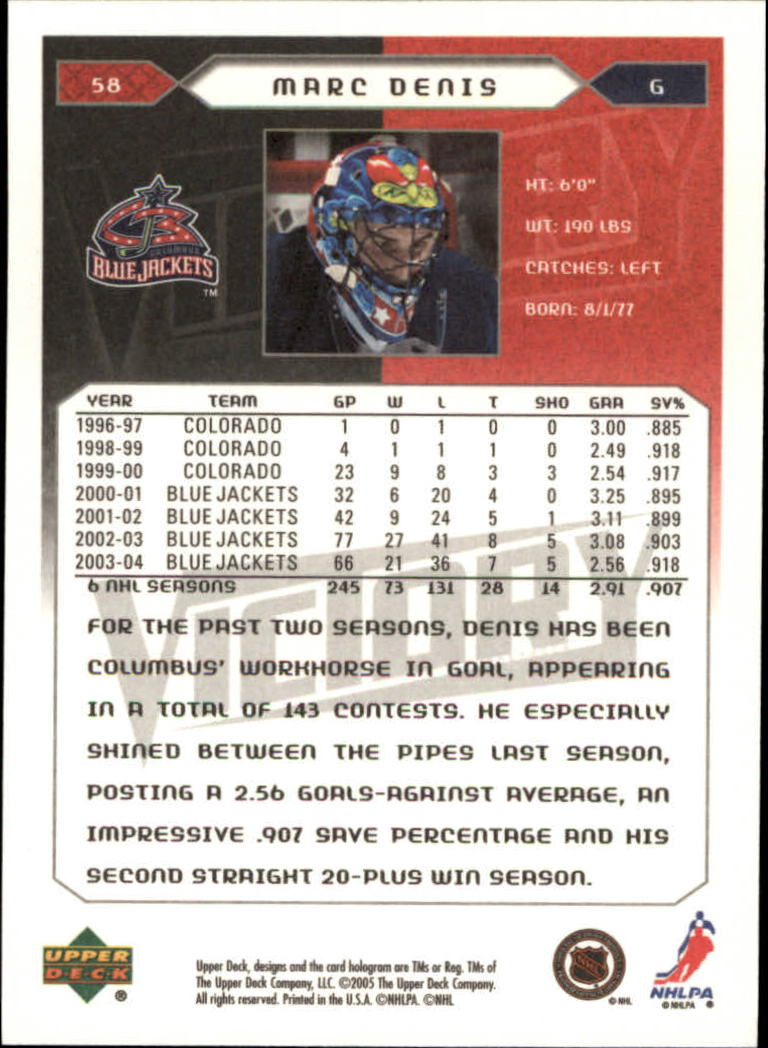 2005-06-Upper-Deck-Victory-Hockey-Cards-1-250-Pick-From-List thumbnail 111
