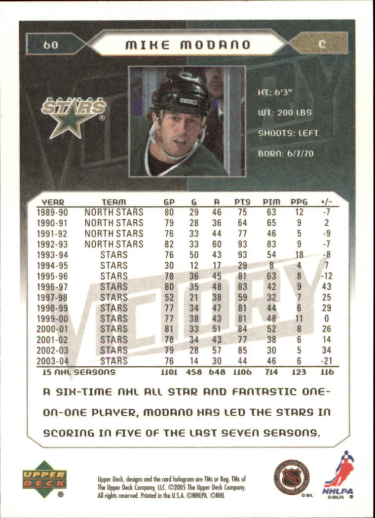 2005-06-Upper-Deck-Victory-Hockey-Cards-1-250-Pick-From-List thumbnail 115