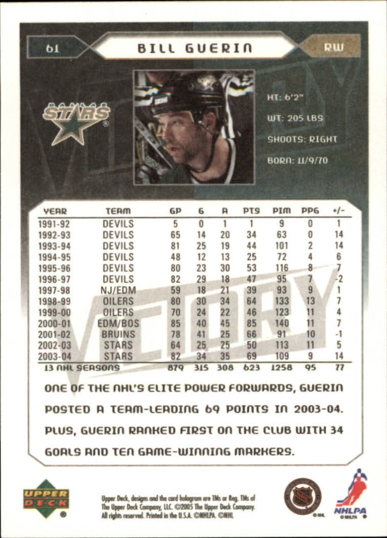 2005-06-Upper-Deck-Victory-Hockey-Cards-1-250-Pick-From-List thumbnail 117