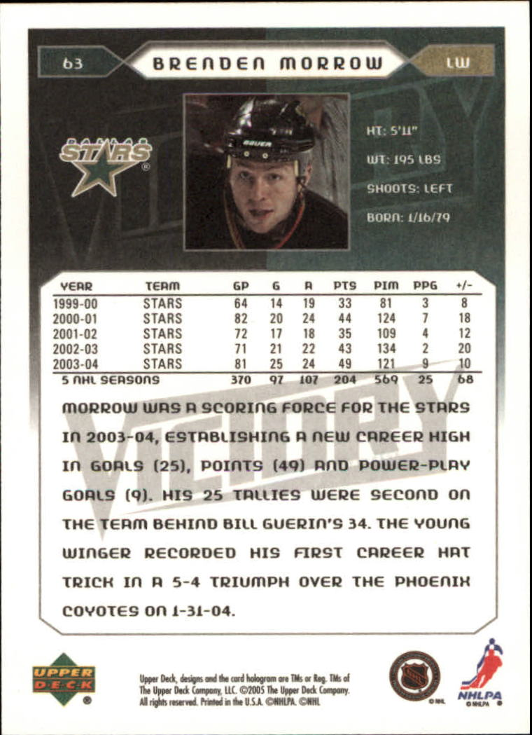 2005-06-Upper-Deck-Victory-Hockey-Cards-1-250-Pick-From-List thumbnail 121