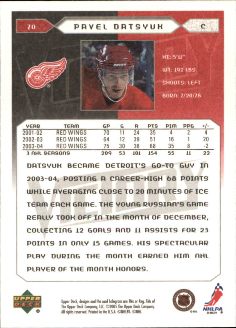 2005-06-Upper-Deck-Victory-Hockey-Cards-1-250-Pick-From-List thumbnail 133