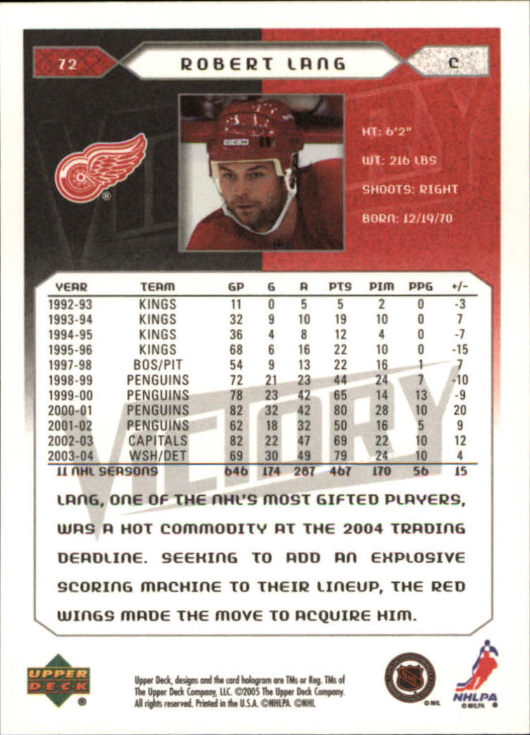 2005-06-Upper-Deck-Victory-Hockey-Cards-1-250-Pick-From-List thumbnail 137