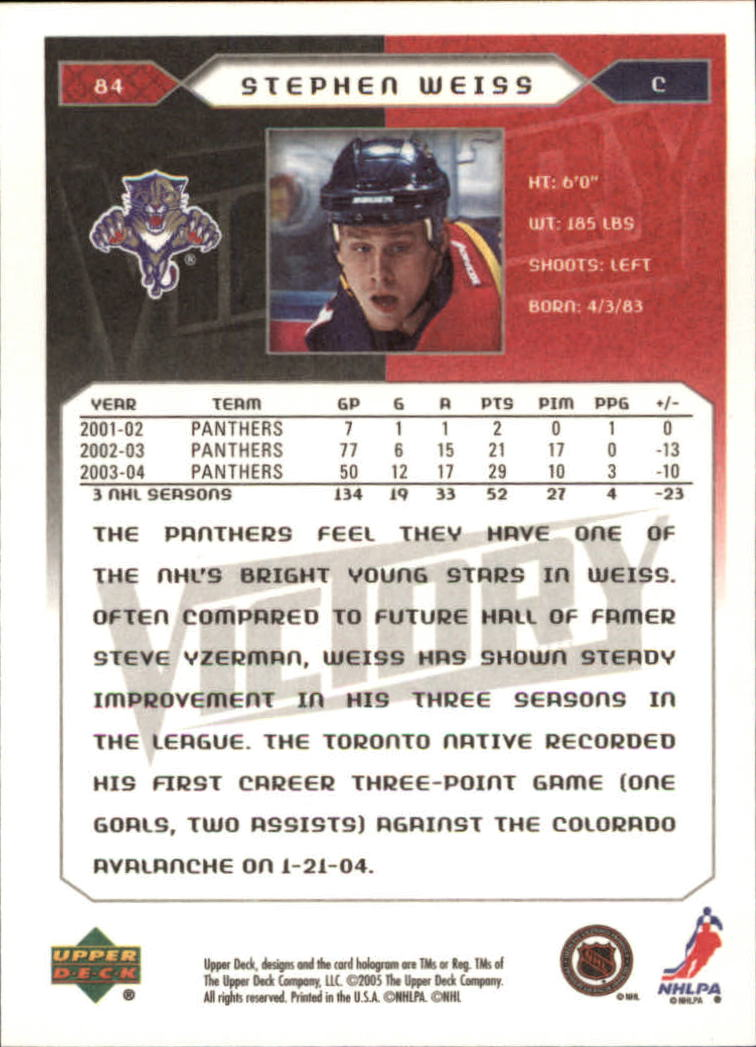 2005-06-Upper-Deck-Victory-Hockey-Cards-1-250-Pick-From-List thumbnail 155