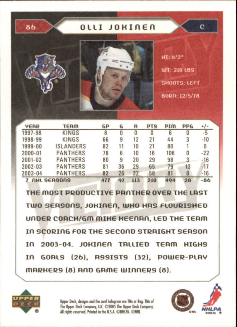 2005-06-Upper-Deck-Victory-Hockey-Cards-1-250-Pick-From-List thumbnail 159