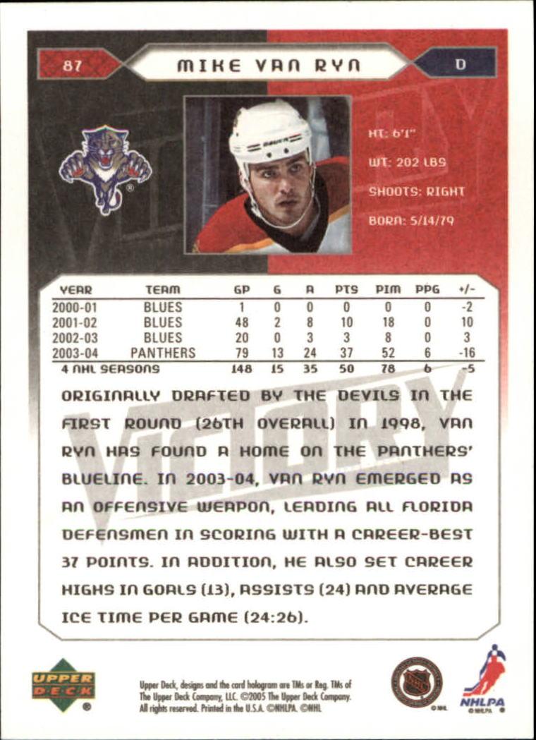 2005-06-Upper-Deck-Victory-Hockey-Card-Pick thumbnail 123