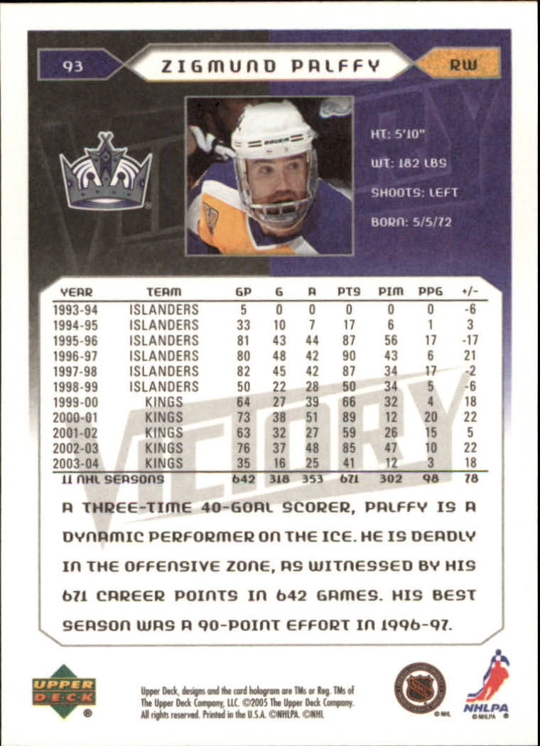 2005-06-Upper-Deck-Victory-Hockey-Cards-1-250-Pick-From-List thumbnail 171