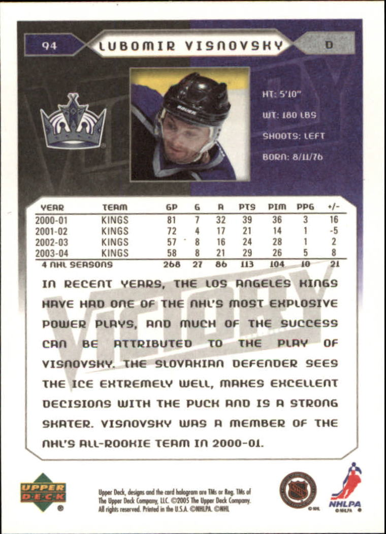 2005-06-Upper-Deck-Victory-Hockey-Cards-1-250-Pick-From-List thumbnail 173