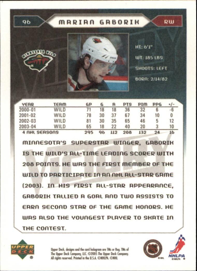 2005-06-Upper-Deck-Victory-Hockey-Card-Pick thumbnail 133