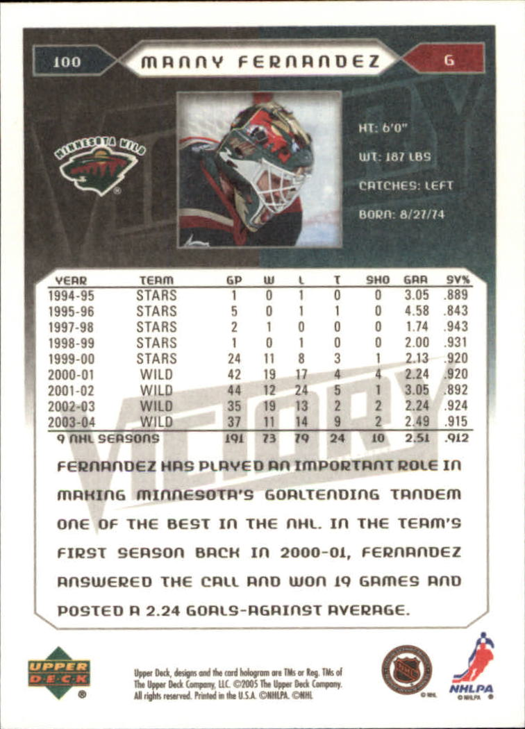2005-06-Upper-Deck-Victory-Hockey-Cards-1-250-Pick-From-List thumbnail 183