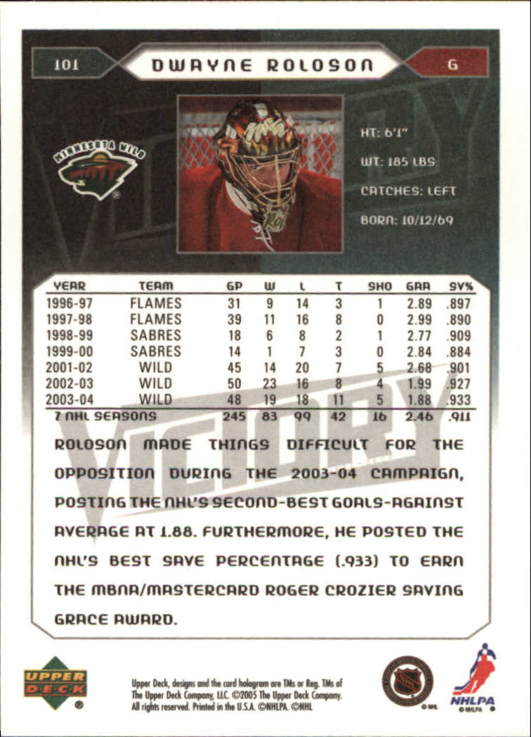 2005-06-Upper-Deck-Victory-Hockey-Cards-1-250-Pick-From-List thumbnail 185